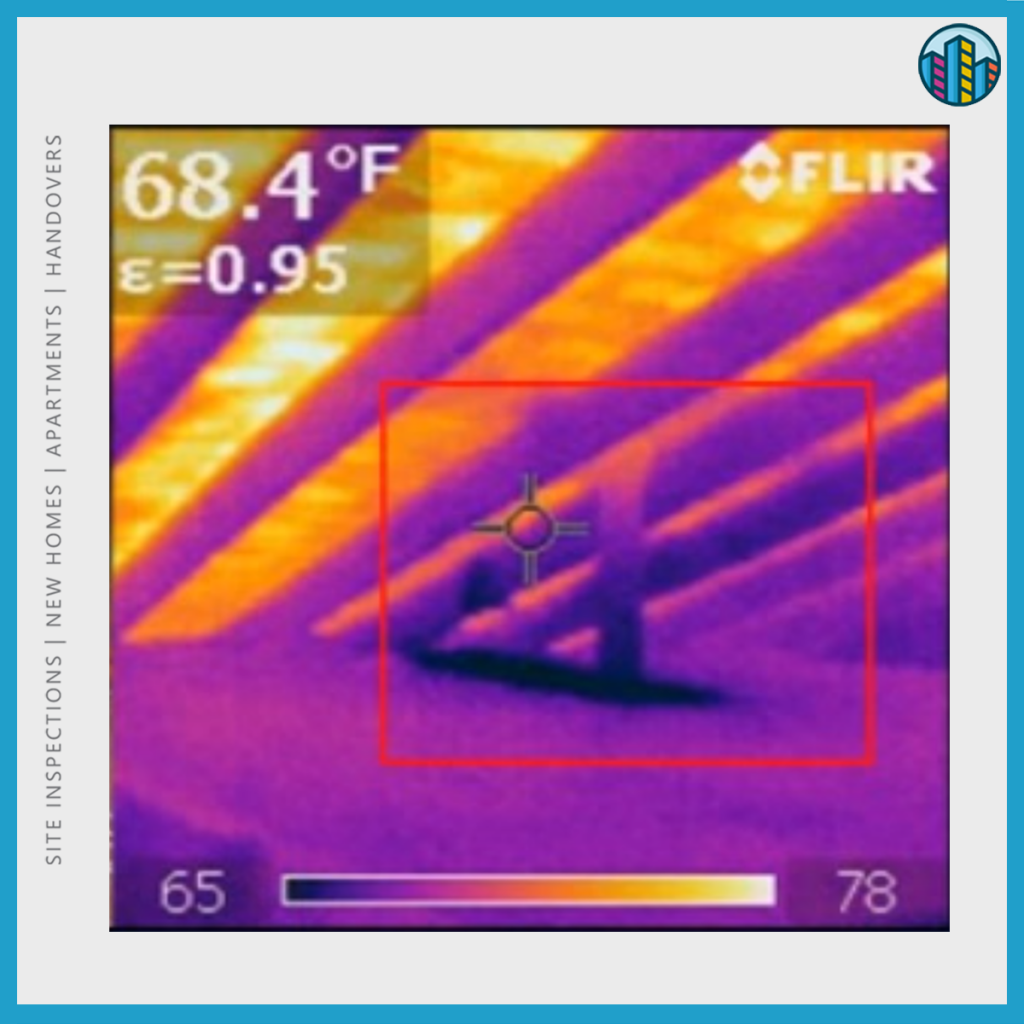 Thermal imaging to detect leaks
