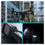 Drone camera imaging for housing sites