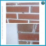 gap between bricklaying work
